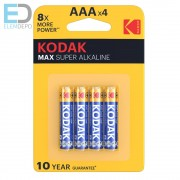 KODAK MAX K3A AAA LR03 1,5V B4