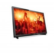 Philips 24 LED TV, HD, DVB T2/C/S2, Digital cristal clear, 200 PPI, 16W