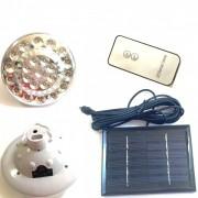 Bec 23 LEDuri Incarcare Solara 220V cu Telecomanda SL678