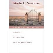 Frontiers of Justice by Martha C. Nussbaum