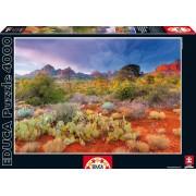EDUCA 16324 Puzzle Genuine Red rock dusk, Arizona, USA 4000 bucăţi