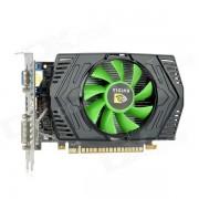 GT630 NVIDIA GT430 GF108 40nm 128-Bit 2G GDDR3 DirectX 11 Graphics Card - Black + Green