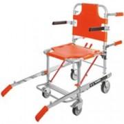 sedia portantina 4 ruote maya 653 con braccioli e pedana