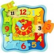Jucarie educativa Big Jigs Lion Clock