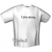 GamersWear IPlay T-Shirt White (XL)