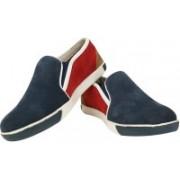Moladz Verona Casual Shoes(Blue, Red)