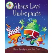 Aliens Love Underpants Box Toy by Claire Freedman