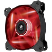 Ventilator Corsair AF140 Quiet Edition LED, Rosu
