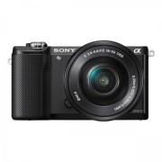 Aparat Foto Sony Alpha A5000 + Obiectiv 16-50mm (Negru)
