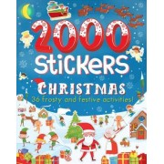 2000 Stickers Christmas by Parragon Books Ltd