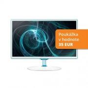 Monitor+TV Samsung T24D391EW, 24'', LED, FHD, PLS, PiP, číra, biely