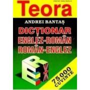Dictionar englez-roman roman-englez 75000 cuvinte ed.2012 - Andrei Bantas