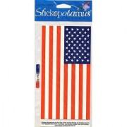 Stickopotamus July 4th Stickers-Stars & Stripes