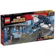 Конструктор Лего Супер Хироус - Преследване в града с Куинджет на Отмъстителите - LEGO Marvel Super Heroes, 76032
