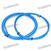 Bicycle Bike Brake Cable Cables Shifter y Escenografia Vivienda - Azul