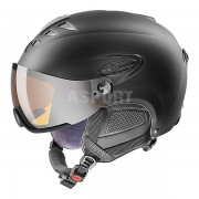 Kask narciarski, snowboardowy, wizjer S3 HLMT 300 VISOR czarny Uvex