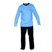 Star Trek The Original Series Science Spock Uniform Pijama Set   S