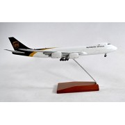 GeminiJets United Parcel Service UPS Boeing 747-8F Diecast Airplane Model With Stand 1:400 Scale Part# GJUPS1627