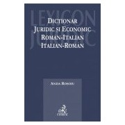 Dictionar juridic si economic roman-italian, italian-roman.