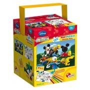 Lisciani Giochi 53551 - Puzzle in a Tub Maxi Mickey, 120 Pezzi, Multicolore