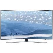 Televizor LED Samsung UE49KU6672, curbat, Ultra HD, smart, PQI 1600, USB, 49 inch, DVB-T2/C/S2, argintiu