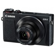 Aparat Foto Digital Canon PowerShot G9 X, 20.2 MP, Zoom Optic 3x, Filmare Full HD (Negru)