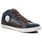 Sneakersy PEPE JEANS - Industry Half PMS30190 Marine 585