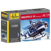 Heller 80378 - Modellino da costruire, Eurocopter EC-145 francese, scala 1:72 [Importato da Francia]