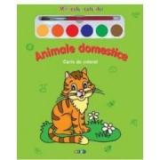 Animale domestice - Miracolul culorilor - Carte de colorat