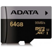 Card de memorie A-DATA, Premier Pro, microSDHC, 64GB, Clasa 10, UHS-I