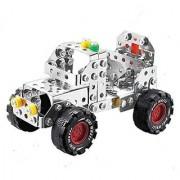YIXIN Metal Build-n-Play Assemble Disassemble Jeep Creative Construction Building Kit Vehicle Car Model 195pcs Building