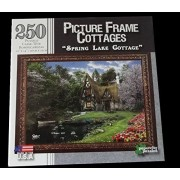 """Picture Frame Cottages, """"Spring Lake Cottage"""", 250 piece puzzle"""