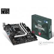 Placă de bază MSI B150M BAZOOKA Intel B150 LGA1151 mATX