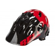Bell Super 2 Helmet Black/Red Aggression 52-56 cm Mountainbike Helme