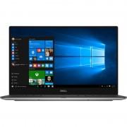 """Ultrabook Dell XPS 13 9360, 13.3"""" QHD+ Touch, Intel Core i7-7500U, RAM 8GB, SSD 256GB, Windows 10 Pro, Argintiu"""