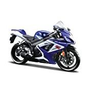 Maisto 1:12 Scale Suzuki GSX-R 750 Model Motorbike