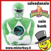SALVADANAIO POWER RANGERS VERDE