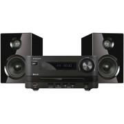 Micro Sistem Ferguson CD250BT, 50W, CD/MP3 Player, Radio FM, Bluetooth (Negru)