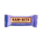 Baton nutritiv cu vanilie si fructe de padure (fara gluten si lactoza) BIO - 50 g