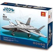 Tactical Heavy Stealth Army Fighter War Plane 286pcs Building Bricks Air Force Military Aircraft Battle Jet Vehicle Building Blocks Compatible To Lego Parts Great Gift For Children
