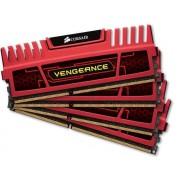 Corsair Vengeance Red Heatspreader 4x8GB DDR3 1866MHz (CMZ32GX3M4X1866C10R)