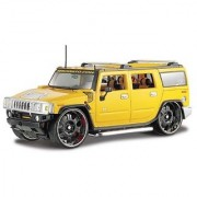 2003 Hummer H2 SUV 1/27 Yellow