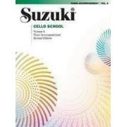 Suzuki Cello School: Piano Accompaniments v. 8 by Shinichi Suzuki