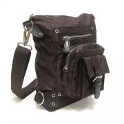 LICENCE 71195 Nordic Small Shoulder Bag Brown LBF10563-BR