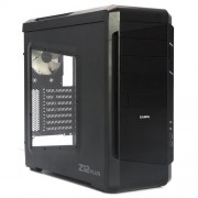Zalman Z12 Plus Case per PC, Nero