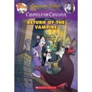 Creepella Von Cacklefur #4: Return of the Vampire: A Geronimo Stilton Adventure