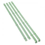 Mesh Stripes Bitfenix pentru carcasa Shinobi XL, culoare verde