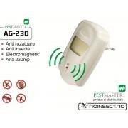 Pest Repeller - aparat cu unde electromagnetice anti gandaci, anti rozatoare Pestmaster AG230 - 230mp