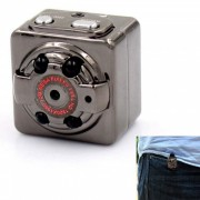 KICCY SQ8 Aluminio Mini 1080P FHD 12.0MP Video Camara DVR - Negro