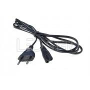 Sieťový kábel 1,5m čierny